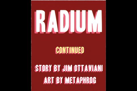 IYPT Comic – Radium part 2 – Frame 1